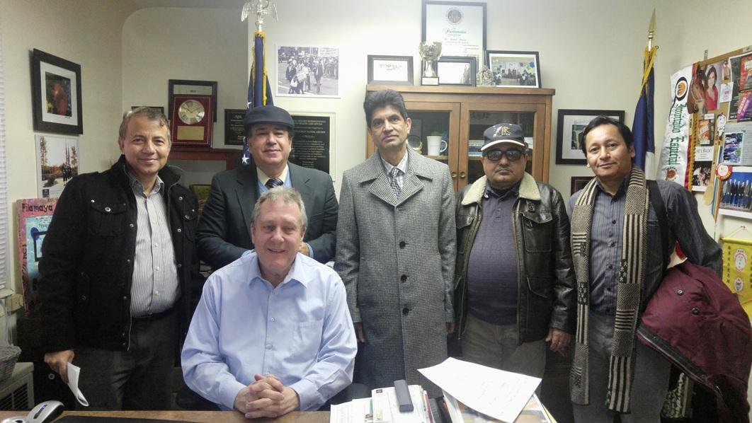 Photo with Councilman Mr. Daniel Dromm