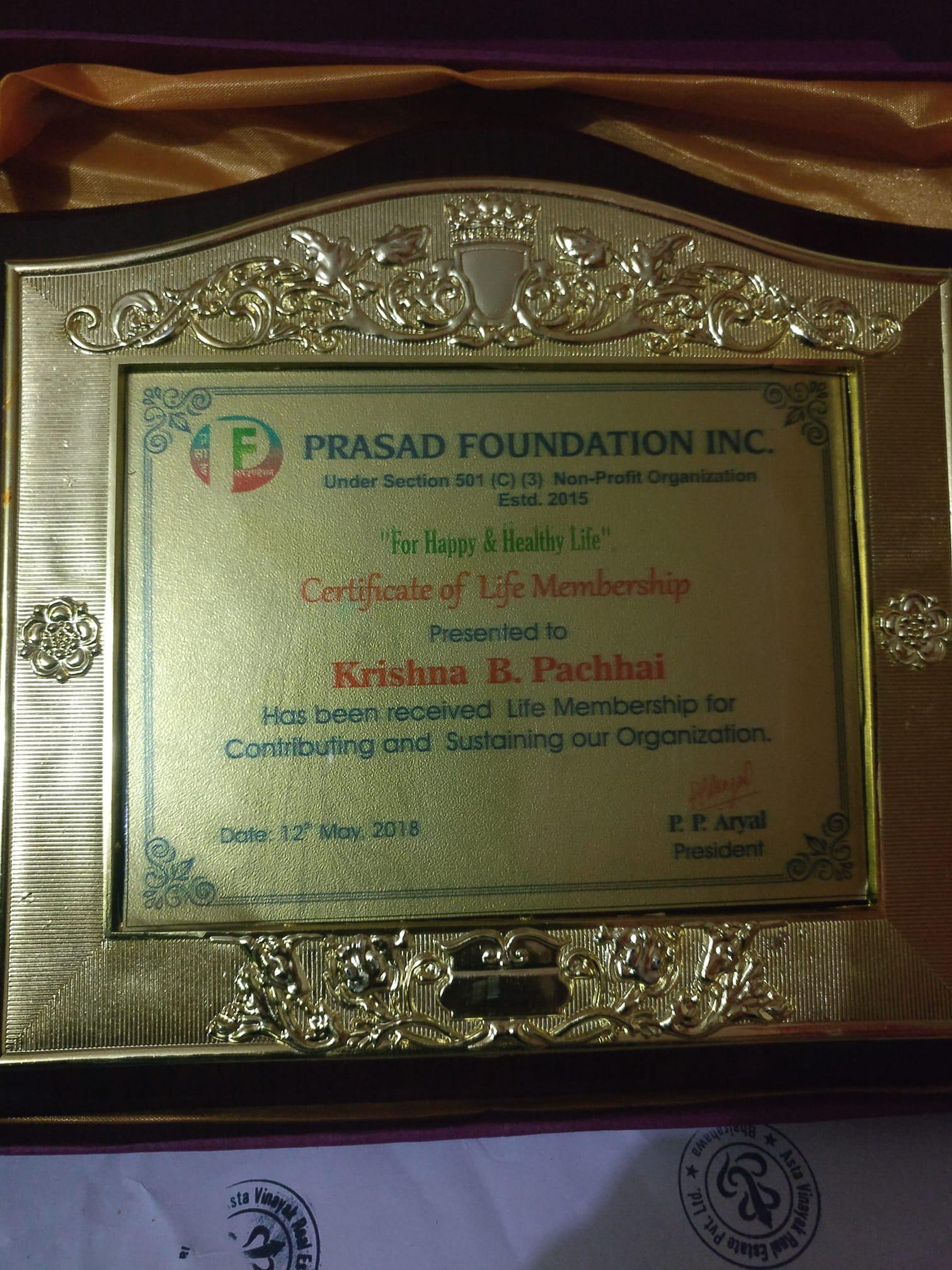 Mr. Krishna Bahadur Pachhai